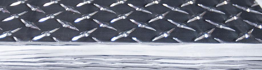 Лист алюминиевый рифленый в СПб от Регион Стали